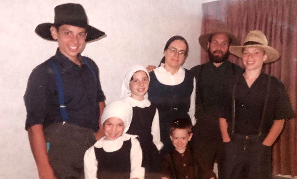 0319 - Malespin family - Amish - period