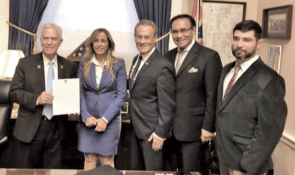 0319 - Israeli delegation with congressman Bill Johnson