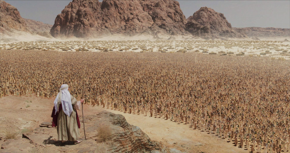 0919 - Moses in front of Israel on Sinai